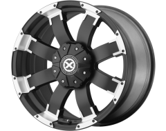 ATX Series AX191 SHACKLE Series Wheels - Satin black with machined face