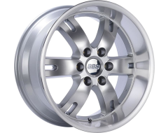 BBS RDT Series Wheels - Diamond silver painted center, diamond-cut rim, clear protective top coat.