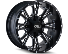 Cali Off-Road AMERICANA 9101 Series Wheels - satin black with milled spokes