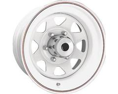 Ceco 8-Spoke Series Wheels - White