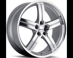 Lumarai Morro Series Wheels - Silver with mirror face & lip