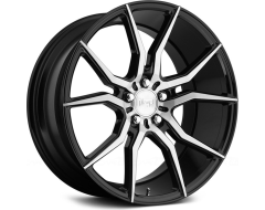 Niche Ascari Series Wheels - Gloss Black with Brushed Face