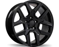 Replika Wheels R220 Series - Gloss Black