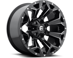 Fuel Off-Road Wheels D576 ASSAULT - Gloss Black Milled