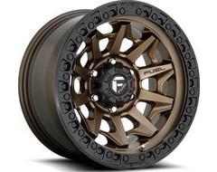 Fuel Off-Road Wheels D696 COVERT - Matte Bronze - Black Bead ring
