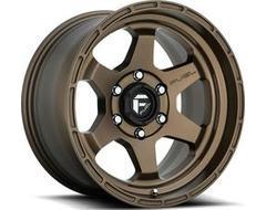 Fuel Off-Road Wheels D666 SHOK - Matte - Bronze