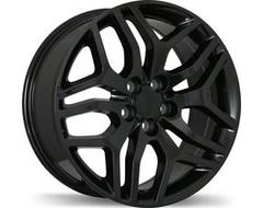 Replika Wheels R189 Series - Gloss Black