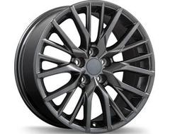 Replika Wheels R224 Series - Gloss Gunmetal