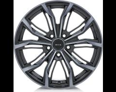 RTX Black Widow Wheels - Black - Machined Grey