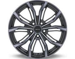 RTX Black Widow Wheels - Black - Machined