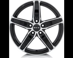 RTX Frost Wheels - Black - Machined