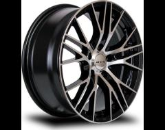 RTX Vertex Wheels - Black - Machined