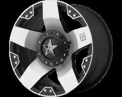 XD Series Wheels XD775 ROCKSTAR - Machined - Matte black