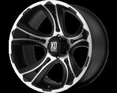 XD Series Wheels XD801 CRANK - Matte Black - Machined