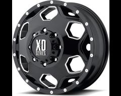 XD Series Wheels XD815 BATALLION - Gloss Black - Milled accents