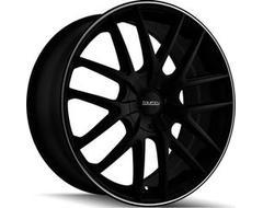 Touren Wheels TR60 3260 Series - Matte Black - Machined ring