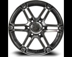 RTX Slate Offroad Series - Black - Machined