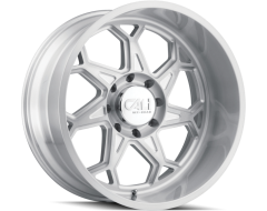 Cali Off-Road SEVENFOLD 9111 Series Wheels - brushed & clear coated