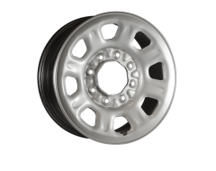 Ceco Steel Wheel - Silver