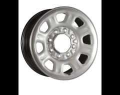 Ceco Steel Wheel - Silver
