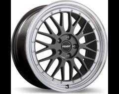 Fast Wheels Victory - Gloss Gunmetal with Machined Lip