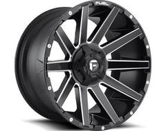 Fuel Off-Road Wheels D616 CONTRA - Matte Black - Milled