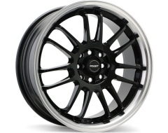 Fast Wheels Shibuya - Gloss Black with Machined Lip
