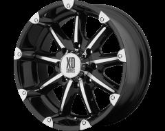 XD Series Wheels XD779 BADLANDS - Gloss Black - Machined