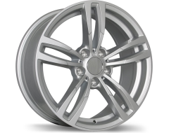Replika Wheels R163A Series - Gloss Silver