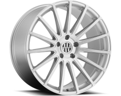 Victor Equipment Sascha Series Wheels - Silver with brushed machine face