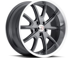 Vision Wheels 143 Torque - Gunmetal - Machined lip