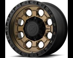 ATX Series AX201 Series Wheels - Matte bronze with black lip
