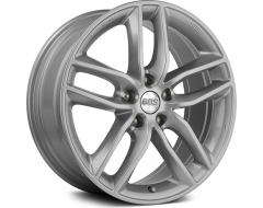 BBS SX Series Wheels - Sport silver paint, clear protective top coat.