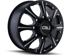 Cali Off-Road BRUTAL 9105 Series Wheels - front black with milled spokes