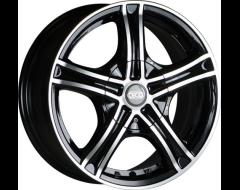 Ceco Series 245 Series Wheels - Black machined