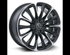 RTX Poison Wheels - Black - Machined