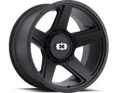 Vision Wheels 390 Empire - Satin Black