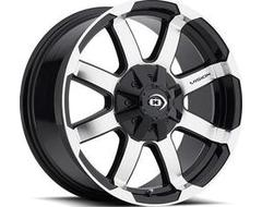 Vision Wheels 413 Valor - Gloss Black - Machined Face
