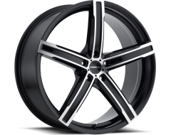 Vision Wheels 469 Boost - Gloss Black - Machined Face