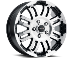 Vision 375 Warrior Wheels - Gloss Black Machined Face