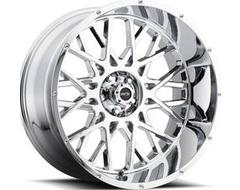 Vision Wheels 412 Rocker - Chrome