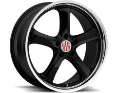 Victor Equipment Turismo Series Wheels - Black machined
