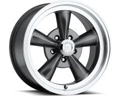 Vision Wheels 141 Legend - Gunmetal - Machined lip
