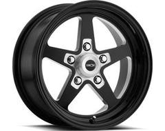 Vision Wheels 571 Sport Star II - Gloss Black - Milled center