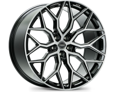 Vossen HF2 Series Wheels - Satin black