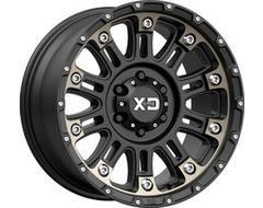 XD Series Wheels XD829 HOSS II - Satin Black - Machined Dark Tint