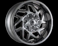 Mayhem HATCHET 8106 Series Wheels - gloss gunmetal with black