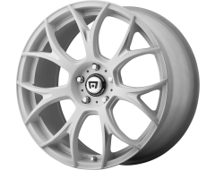 Motegi Racing Wheels MR126 - Matte White - Milled accents