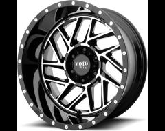 Moto Metal MO985 BREAKOUT Series Wheels - Gloss black machined
