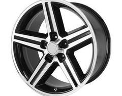 OE Creations Wheels PR148 - Gloss Black - Machined